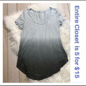 American Eagle Soft & Sexy Slub Tunic T-shirt